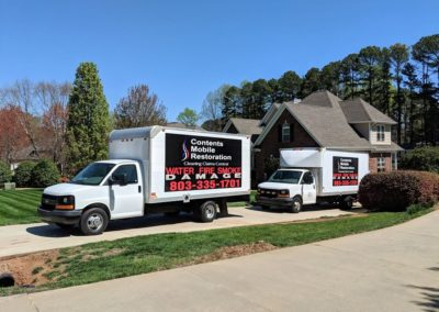Fire Damage Cleanup and Restoration For the Home is Complete and Items are Returned To The Home After Full Fire and Smoke Damage Restoration is Complete